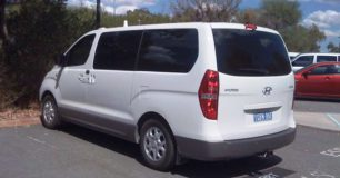 Photo of I-max transport used for transfers of youth in custody