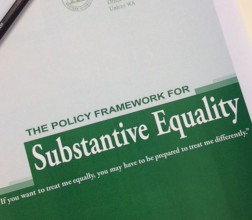 Image of Substantive Equality Framework