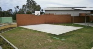 Photo of the limited recreation facilities available
