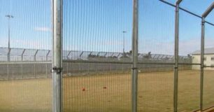 Photo of Casuarina Oval behind wire