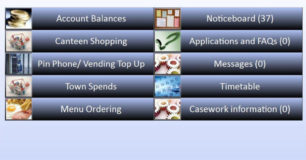Screenshot of Acacia Custodial Management System