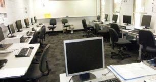Image of classroom computing lab.