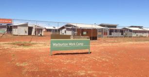 Entrance to Warburton Work Camp