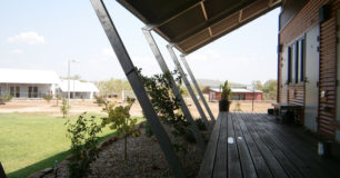 Veranda at New Wyndham Work Camp