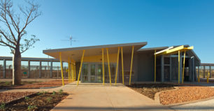 Image of entrance of West Kimberley Regional Prison