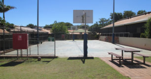 Image of a Basket Ball court at West Kimberley Regional Prison - 2015