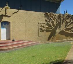 Artwork of Tree on wall