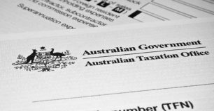 Image of ATO Tax File form