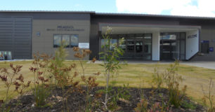 Image of the entrance to Melaleuca Remand and Reintegration Facility