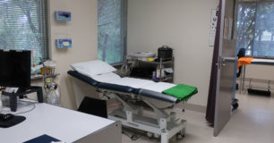 Image of a bed in the health centre at Boronia Pre-release Centre for Women