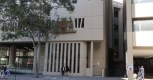 Image of The Central Law Courts in Perth where court security and custodial services are provided by G4S under subcontract to WLG