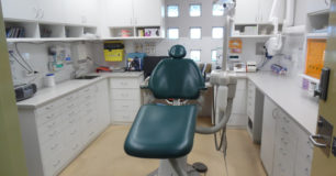 Image of a dental surgery room at Acacia Prison