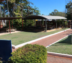 Image of the visits area at Broome Regional Prison