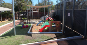 Image of children's playground in the visits area at Broome Regional Prison