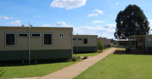 Image of new accommodation units at Karnet Prison Farm
