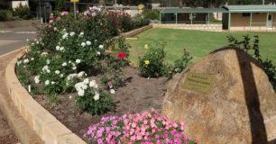 Image of the entrance garden at Karnet Prison Farm