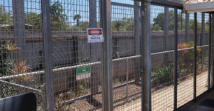 Image of a security fence at Broome Regional Prison