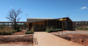 Image of the Gatehouse at West Kimberley Regional Prison