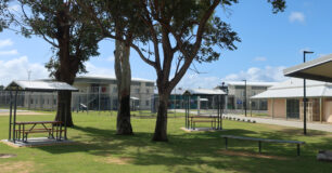 Image of outside the new Unit 6 at Bunbury Regional Prison