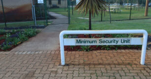 Image of of outside Unit 5, the original minimum security unit at Bunbury Regional prison