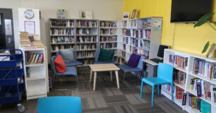Image of the library at Melaleuca Women's Prison