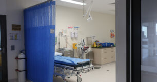 Image of the medical room at Melaleuca Women's Prison